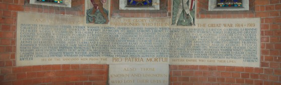St Mary's War Memorial