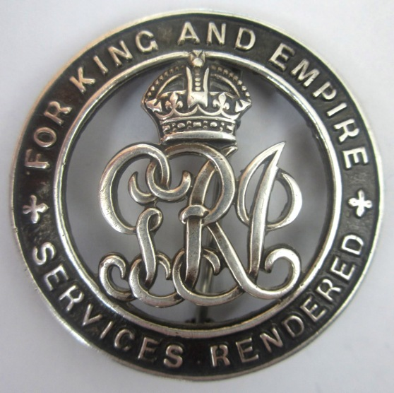 war badge