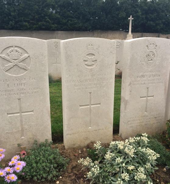 Milton grave