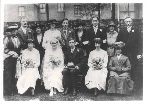 Edward Fred Warner and Mary Elizabeth Clarke Wedding (1)