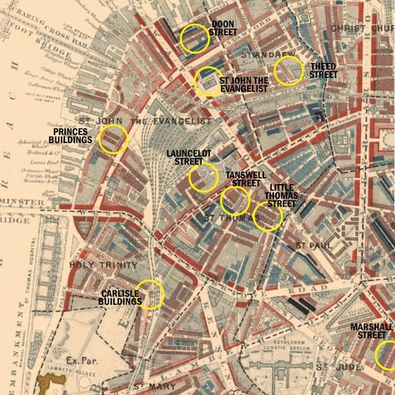 hickey-locations