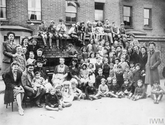 VE DAY CELEBRATIONS IN LONDON, MAY 1945.