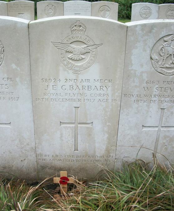 John Barbery grave