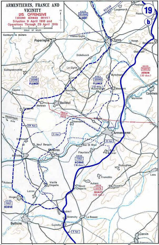 Archer_Map_of_German_Lys_offensive_1918