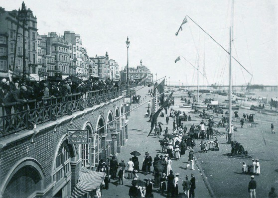 Brighton Beachfront circa 1890's