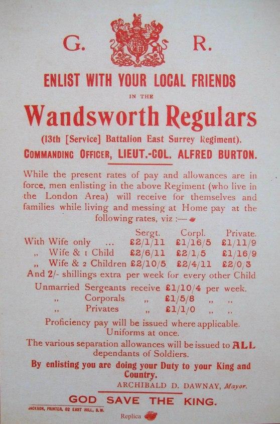 Wandsworth callup
