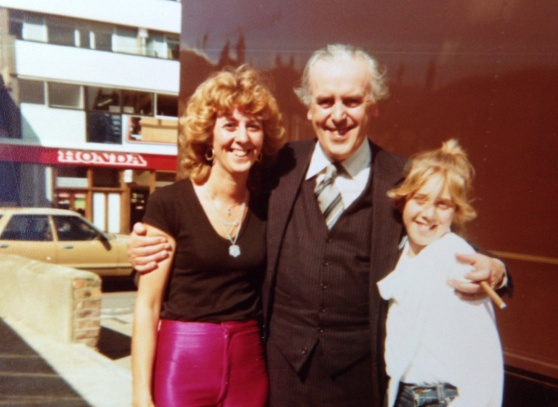 George Cole and Pam