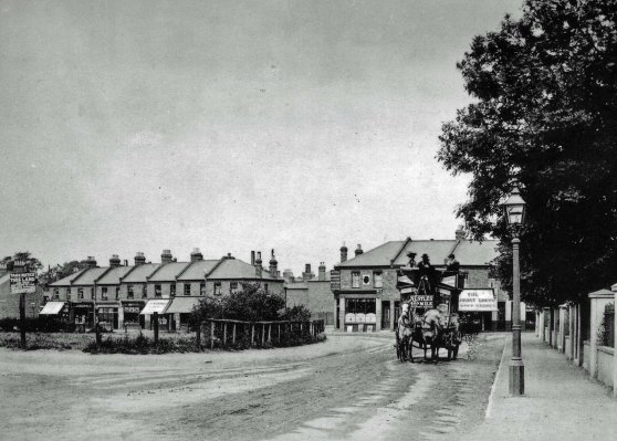 WIMBLEDON ROAD JUNCTION c1900