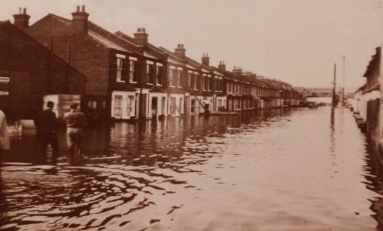 Maskell Road Floods 1968 1