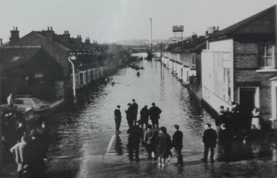 Maskell Road Floods 1968 3