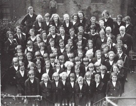 Girls Brigade with MrShepherd