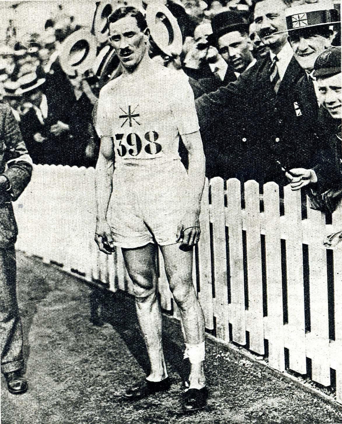 HILL Albert at Antwerp OG 1920