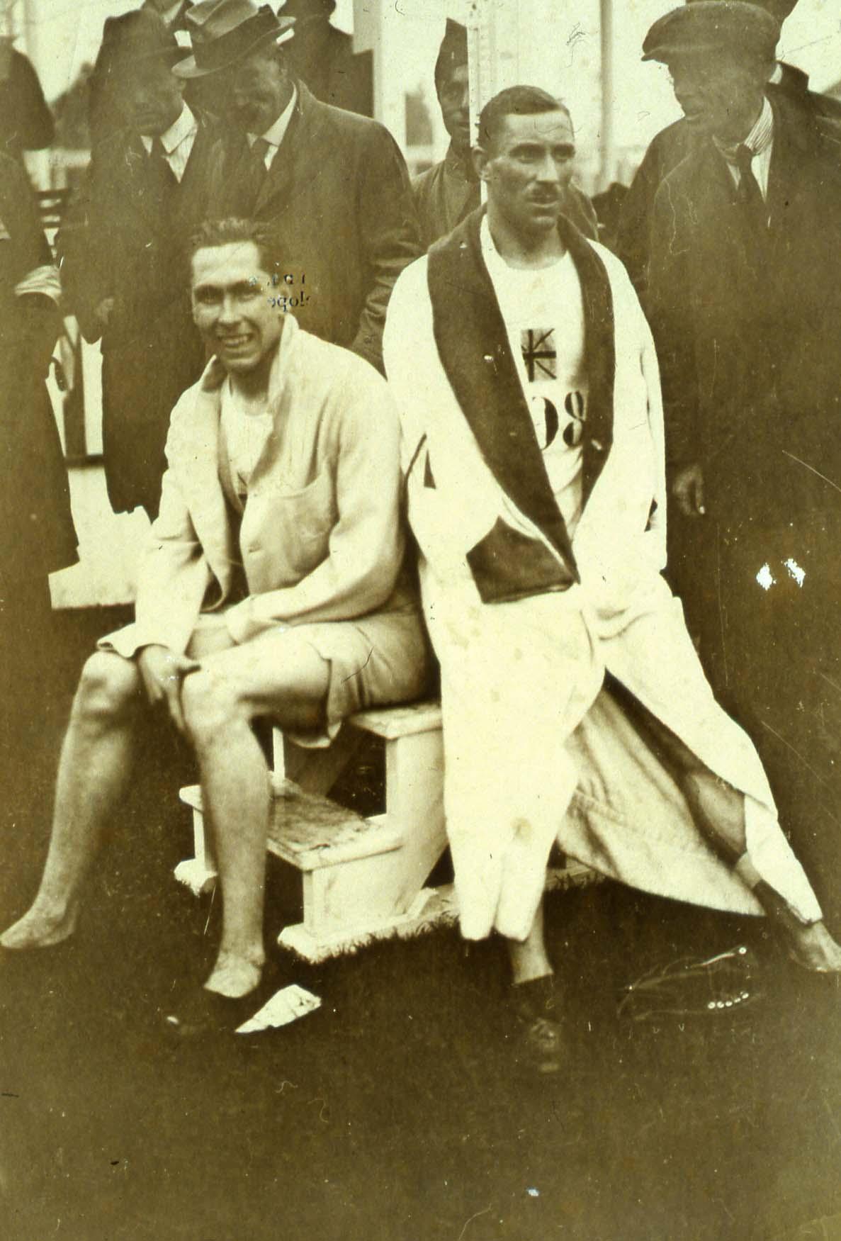 HILL Albert & NOEL-BAKER Philip OG 1920